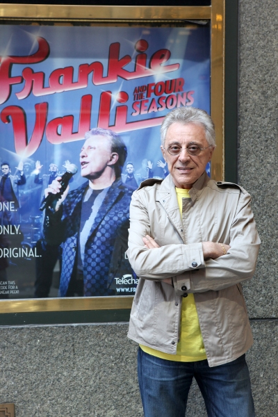 Photo Coverage: Frankie Valli Meets the Press at Broadway Theatre!