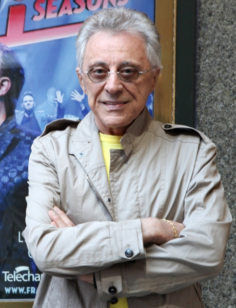 Frankie Valli at Frankie Valli Meets the Press at Broadway Theatre!