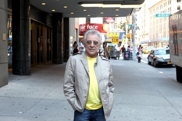 Frankie Valli  at Frankie Valli Meets the Press at Broadway Theatre!
