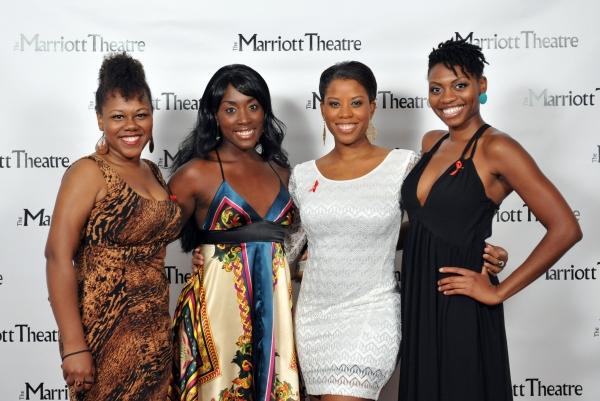 Ivory Doublette, Malynda Hale, Eleasha Gamble, Adrienne Walker