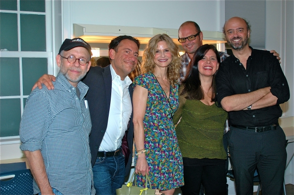 Bob Balaban, Eugene Pack, Kyra Sedgwick, Chris Bauer, Dale Reyfel and Scott Adsit