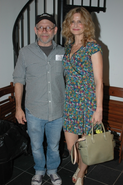 Bob Balaban and Kyra Sedgwick at Kyra Sedgwick, Chris Bauer and More in COLUMBUS AND AMSTERDAM Benefit Reading