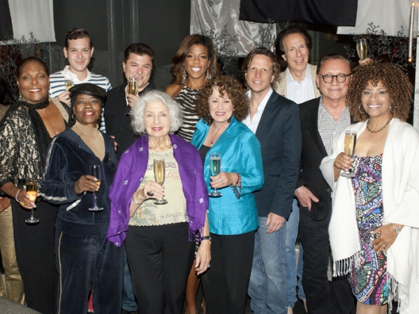 Front row: Denise Perrier, Lady Mem'Fis, Faith Winthrop, Linda Kosut, Robert Kotonly, Photo