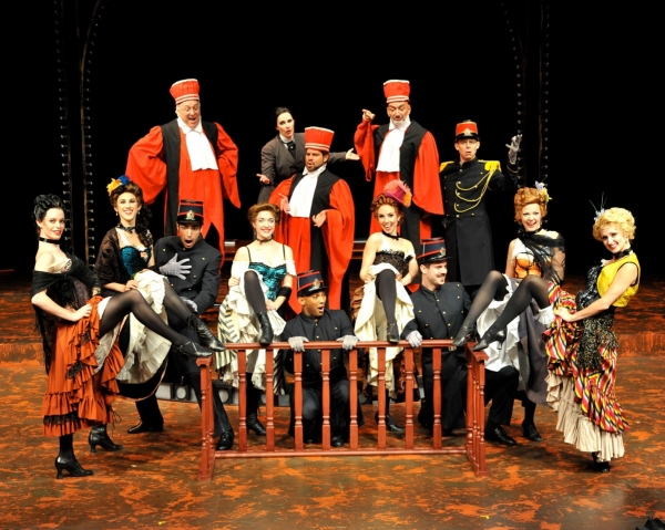 Photo Flash: First Look at Westchester Broadway Theatre's CAN-CAN