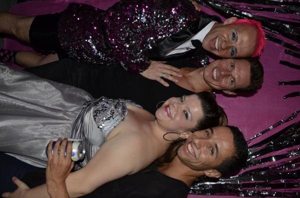 Marty Thomas Ryan Williams Nico Ramirez and Marissa Rosen Photo