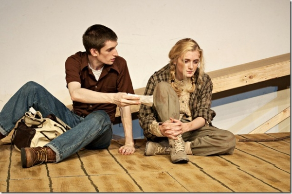 Photo Flash: First Look at Amanda Hawkins, Chad Elder and More in BALD's THE BURNT PART BOYS