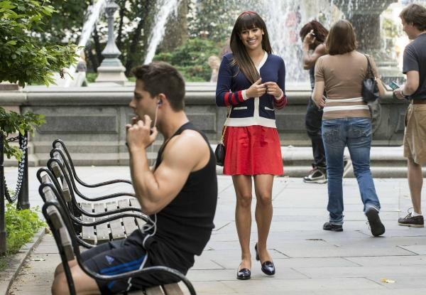 Dean Geyer, Lea Michele