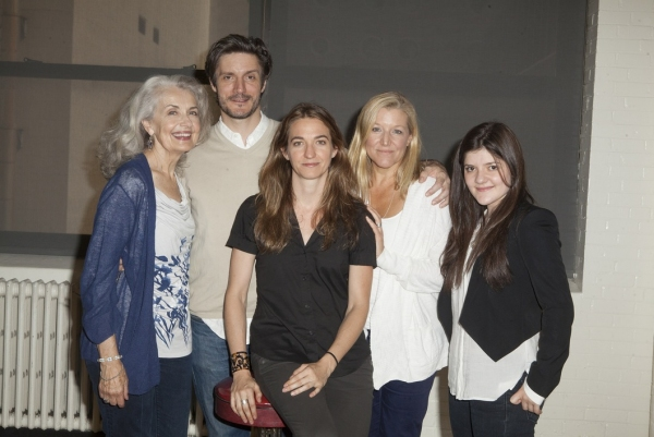 Mary Beth Peil, Gareth Saxe, Director Gaye Taylor Upchurch, Mary McCann and Madeleine Martin at In Rehearsal with Atlantic Theater Company's HARPER REGAN