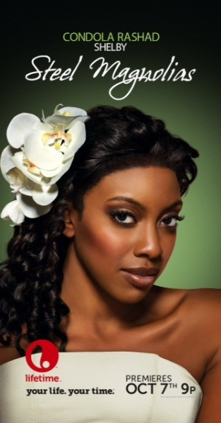 Condola Rashad as Shelby at First Look at Lifetime's STEEL MAGNOLIAS, Starring Queen Latifah, Phylicia Rashad and More!