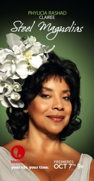 Phylicia Rashad as Clairee at First Look at Lifetime's STEEL MAGNOLIAS, Starring Queen Latifah, Phylicia Rashad and More!