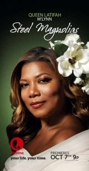 Queen Latifah as M'Lynn at First Look at Lifetime's STEEL MAGNOLIAS, Starring Queen Latifah, Phylicia Rashad and More!