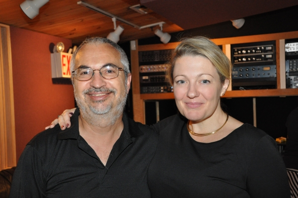 Peter Candela (Musical Director and Composer) and Lynn Pinto (Producer) Photo