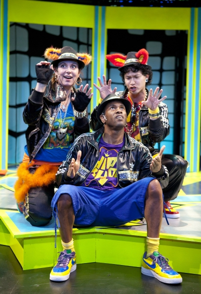 Photo Flash: Imagination Stage Hits 'Repeat' for P.NOKIO: A HIP-HOP MUSICAL