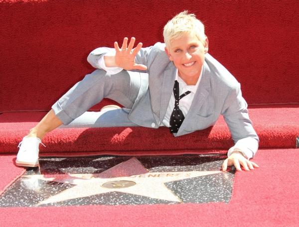 Ellen DeGeneres at Ellen DeGeneres Receives Star on Hollywood Walk of Fame