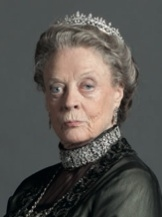 Maggie Smith at Meet the Cast of PBS's DOWNTON ABBEY Season 3