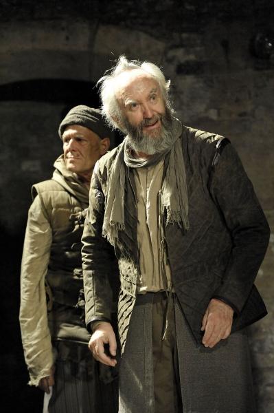 Ian Gelder (Kent) and Jonathan Pryce (King Lear)