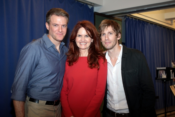 Edward Watts, Candy Buckley, Andrew Samonsky at Meet the Cast and Creative Team of SCANDALOUS!