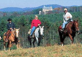 Biltmore Horseback riding