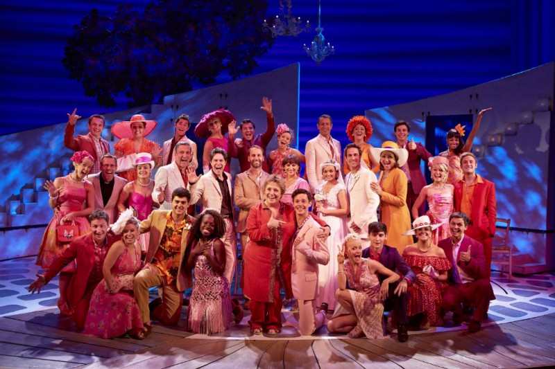 Photo Flash: First Look at Gary Milner, Sally Ann Triplett and More in West End's New Cast of MAMMA MIA!