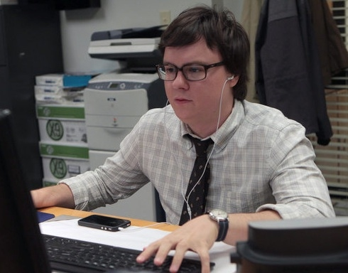 Photo Flash: First Look at THE OFFICE New Cast Member Clark Duke