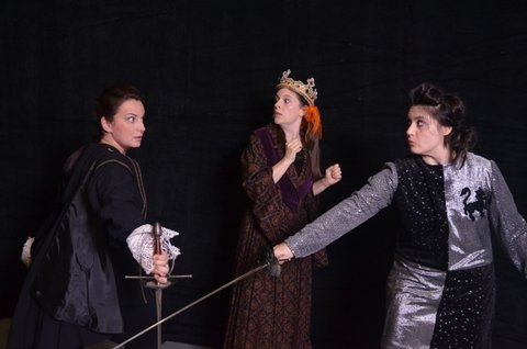 Photo Flash: First Look at Raleigh Little Theatre's COMPLETE WORKS OF WILLIAM SHAKESPEARE