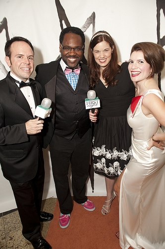 Photo Coverage: The 2013 First Night Honors Red (actually Orange) Carpet Arrivals