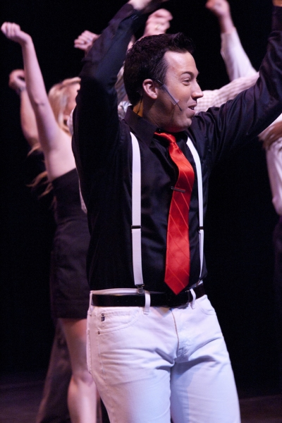 "Darin Richardson in ""You Can't Stop the Beat"""