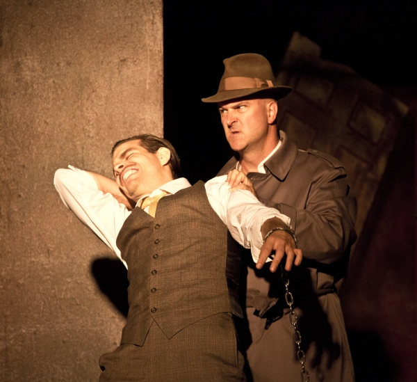 Photo Flash: First Look at Maryland Theatre Ensemble's THE 39 STEPS