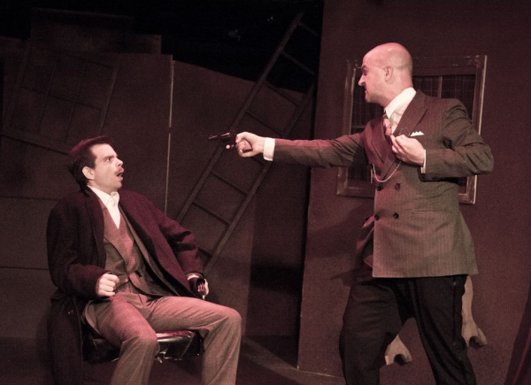Matt Baughman, Tad Janes at Complete Production Shots of MET's 39 STEPS