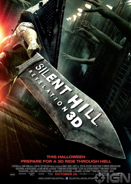 Photo Flash: Poster Art Revealed For SILENT HILL: REVELATION 3D