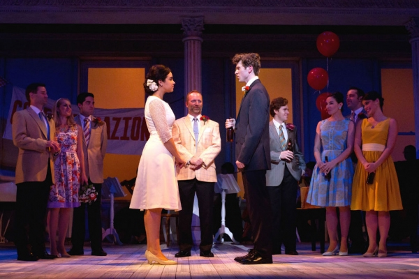 Alexandra Silber, Scott Langdon, Will Reynolds and Ensemble  at Complete Photos of Walnut Street Theatre's LOVE STORY, The Musical - Will Reynolds, Alexandra Silber & More!