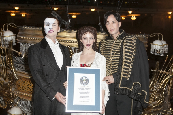 Photo Coverage: THE PHANTOM OF THE OPERA Earns Spot in Guinness Book of World Records!