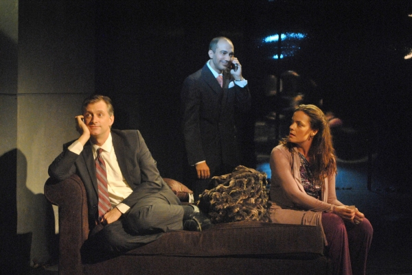 Michael Frederic, Evan Zes and Danielle Skraastad
