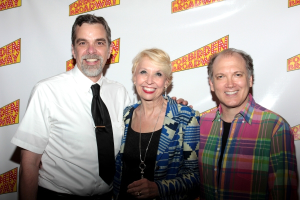 Phillip George, Julie Halston, Charles Busch at Inside Opening Night of FORBIDDEN BROADWAY: ALIVE AND KICKING!