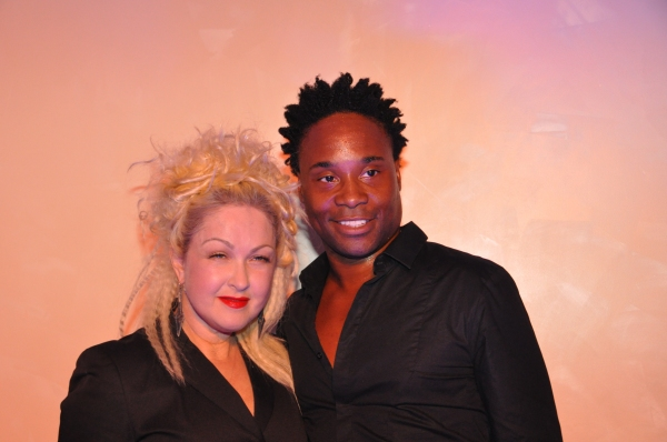 Photo Coverage: KINKY BOOTS' Cyndi Lauper & Billy Porter Sing at Manolo Blahnik!