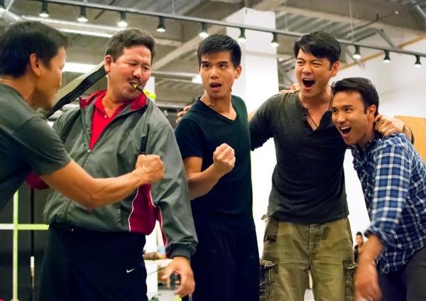 Jon Jon Briones, Scott Watanabe, Telly Leung, Karl Josef Co and Marc de la Cruz Photo