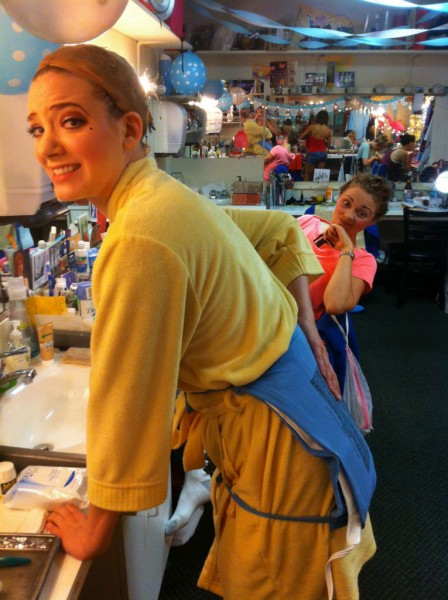 BWW Blog: Stephanie Martignetti in Broadway's NICE WORK IF YOU CAN GET IT - A Day (or 2) in the Life!