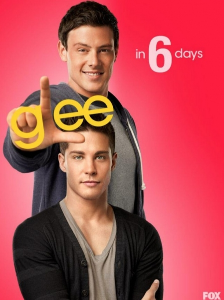 Cory Monteith, Dean Geyer at GLEE's 'Countdown to Season 4' Photo Shots