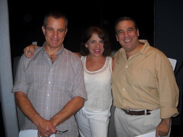 Bruce Nozick, Tracy Pattin and Rick Zieffat  Photo