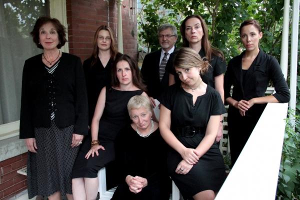 L – R: (back row) Kerry Beebe, Lisa Kraai, Wade Livingston, Abby Apple-Boes, Amanda Kowalski, Missy Moore, Anne Oberbroeckling and Christine Sharpe