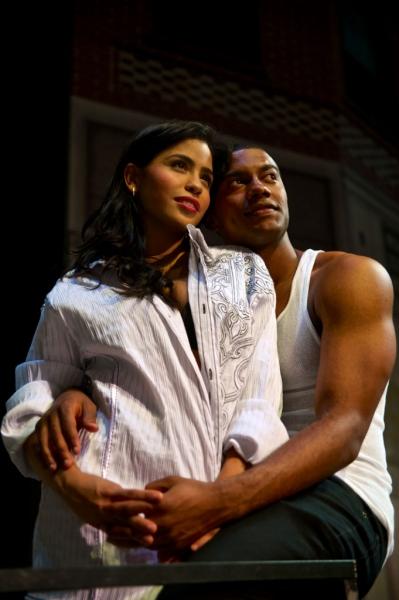Emily Vasquez and Joshua Boone