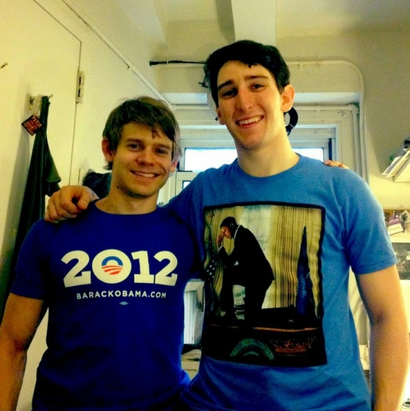 Photo Flash: Saturday Intermission Pics, Sept 8 - NEWSIES' Jeremy Jordan Gets Married, Broadway Supports Obama and More!