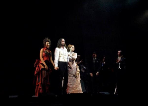 Deborah Cox, Constantine Maroulis and Teal Wicks at Photo Coverage Exclusive: JEKYLL & HYDE Tour Opening Night Curtain Call & Party - Maroulis, Cox, Wicks & More!