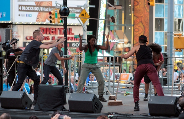 Photo Coverage: Inside BROADWAY ON BROADWAY- The Performances!