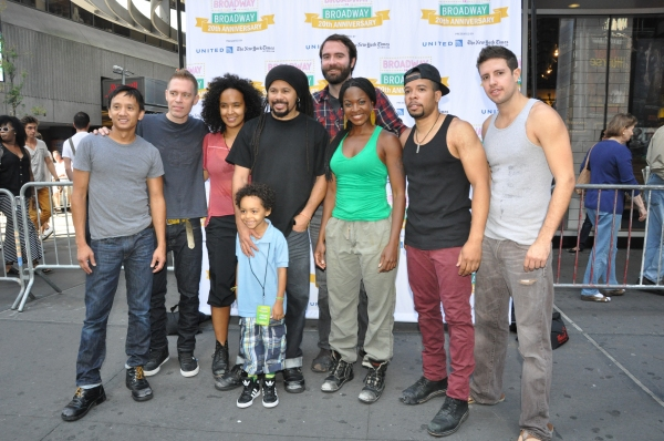 Photo Coverage: The Casts of BROADWAY ON BROADWAY - ANNIE, MOTOWN, SCANDALOUS, BARE and More!