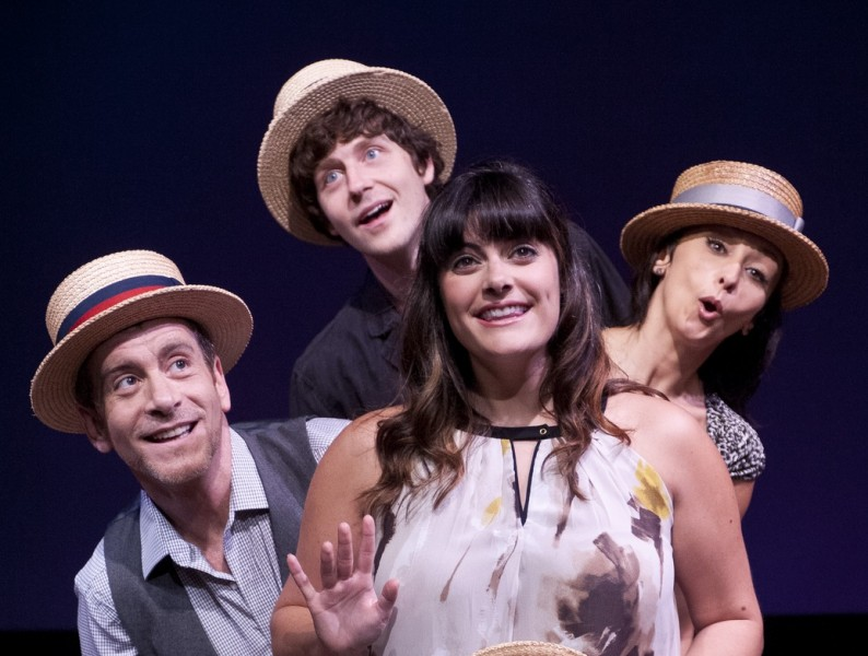 BWW Reviews: Ensemble Cast Succeeds With JACQUES BREL IS ALIVE AND WELL AND LIVING IN PARIS at Metro Stage