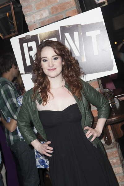 Emma Hunton at Inside Closing Night of RENT at New World Stages!