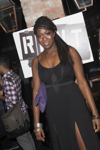 Amber Iman at Inside Closing Night of RENT at New World Stages!