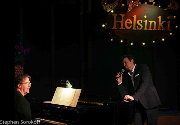 Christopher Denny & Brent Barrett at Brent Barrett Brings 'Night Songs' to Helsinki Hudson
