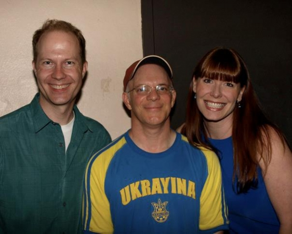 Daniel Thomas, Eddie Korbich and Kami Seymour